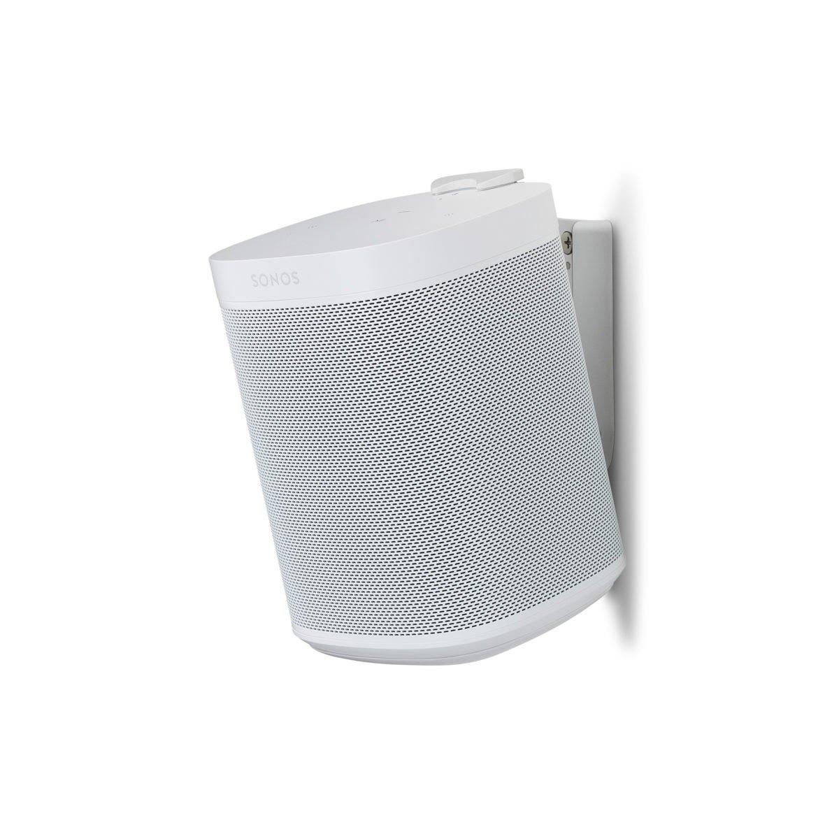 Sonos one muurbeugel wit 6