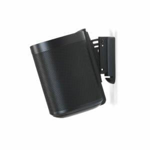 Sonos one muurbeugel zwart 3