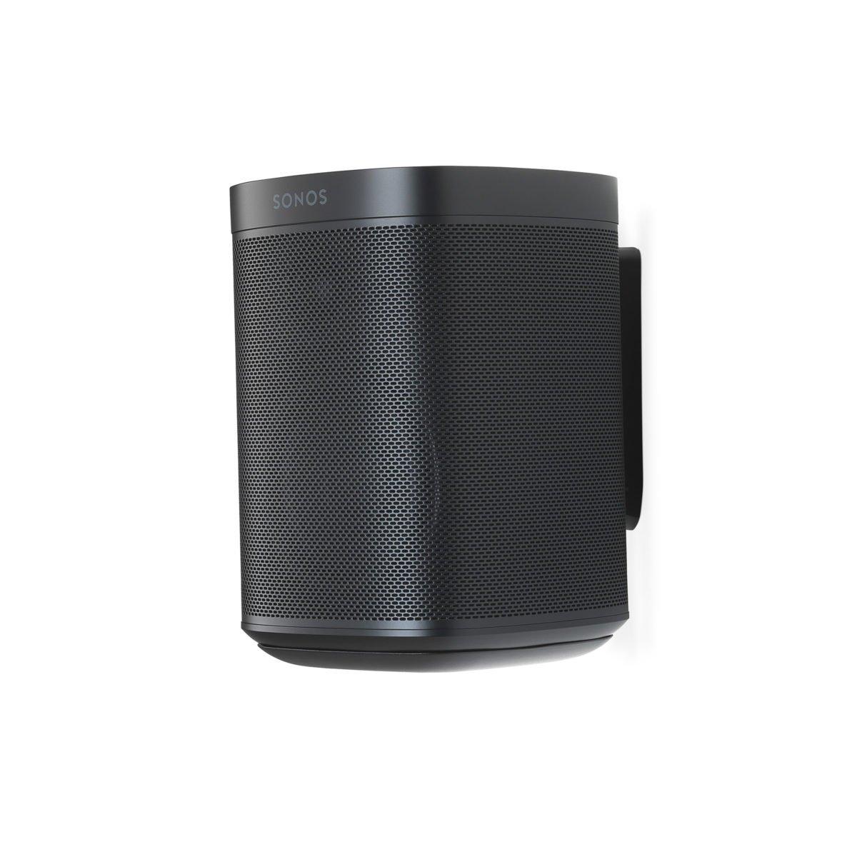 Sonos one muurbeugel zwart 8