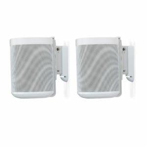 Sonos one set muurbeugels wit