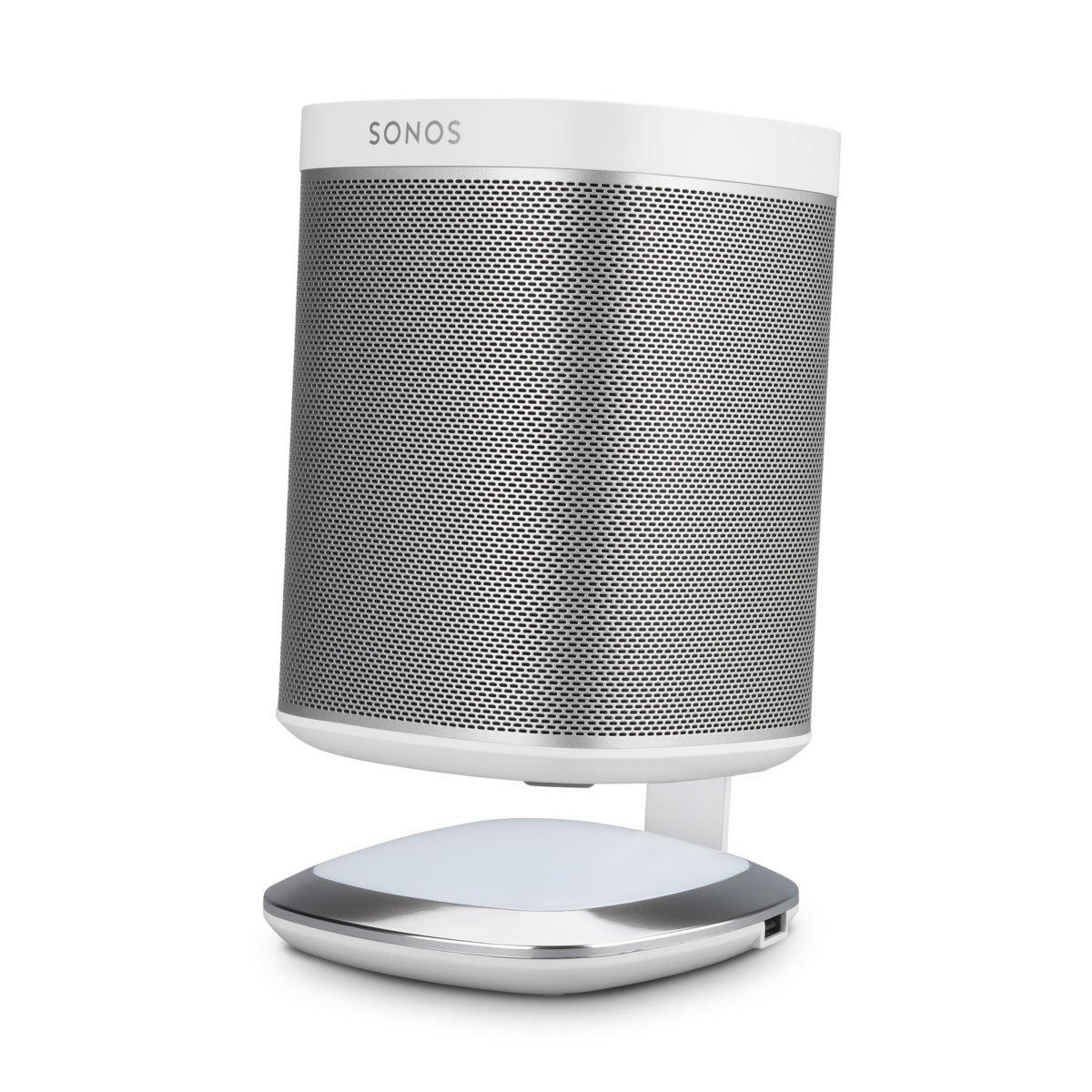 Sonos play 1 tafelstandaard met verlichting wit 5