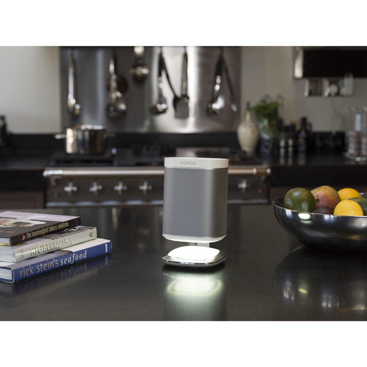 Sonos play 1 tafelstandaard met verlichting wit 7