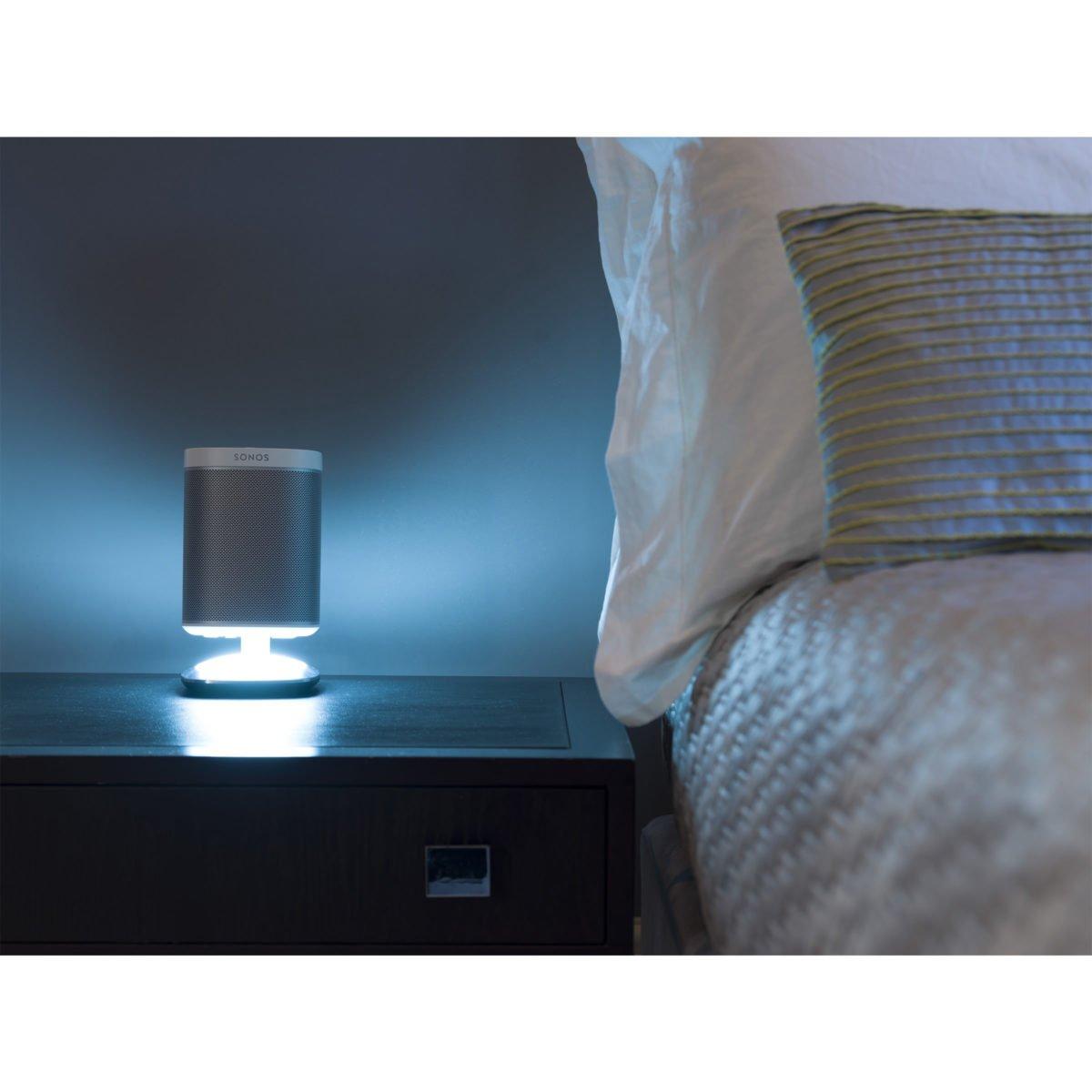 Sonos play 1 tafelstandaard met verlichting wit 9