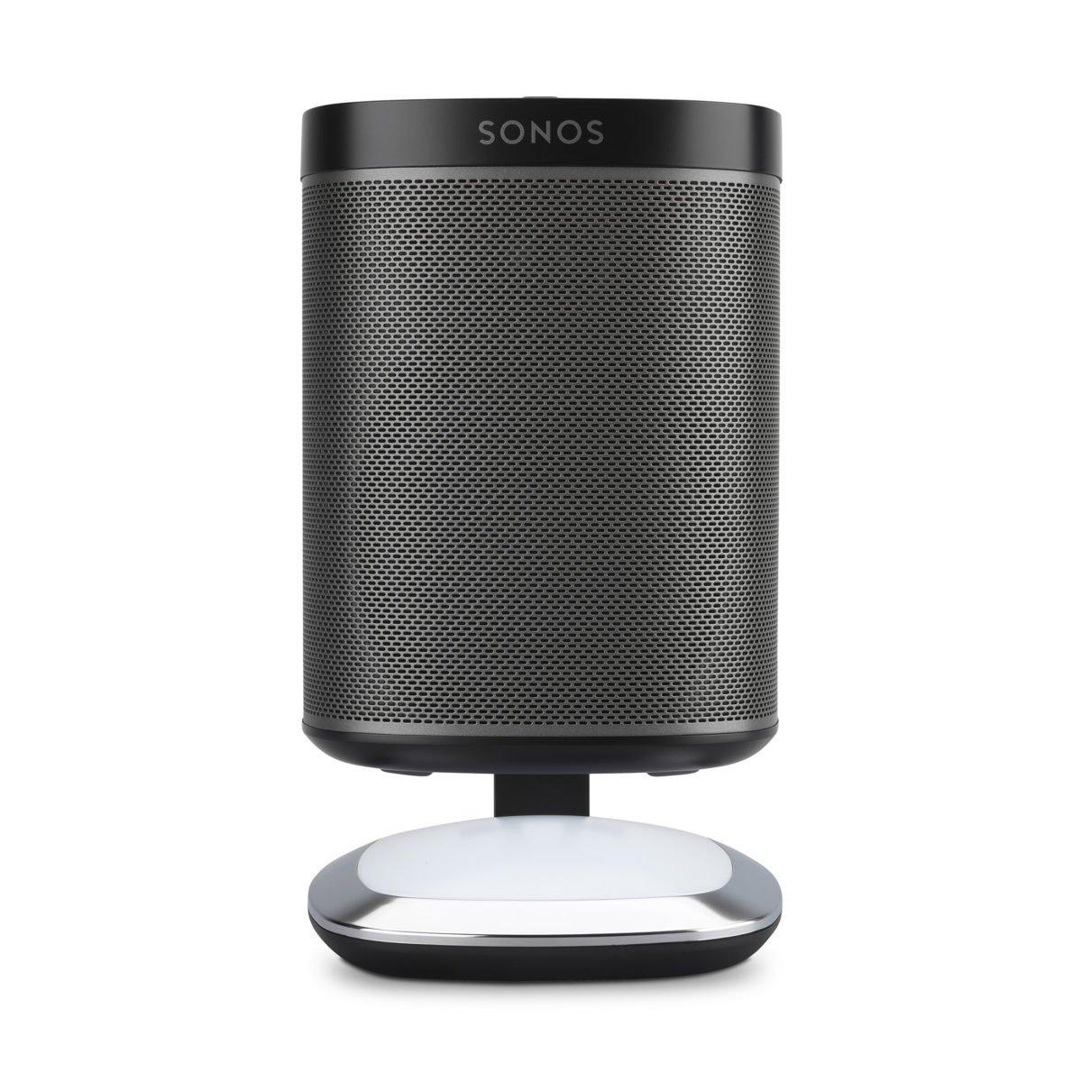 Sonos play 1 tafelstandaard met verlichting zwart 2