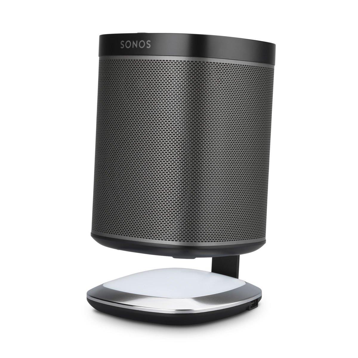 Sonos play 1 tafelstandaard met verlichting zwart 5