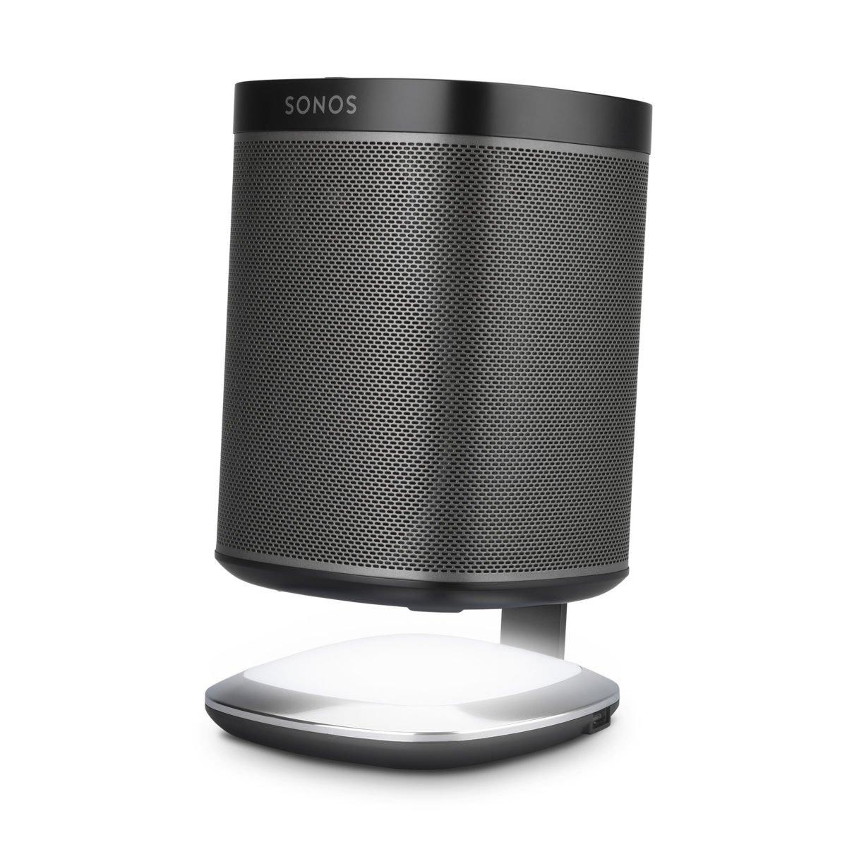 Sonos play 1 tafelstandaard met verlichting zwart 6