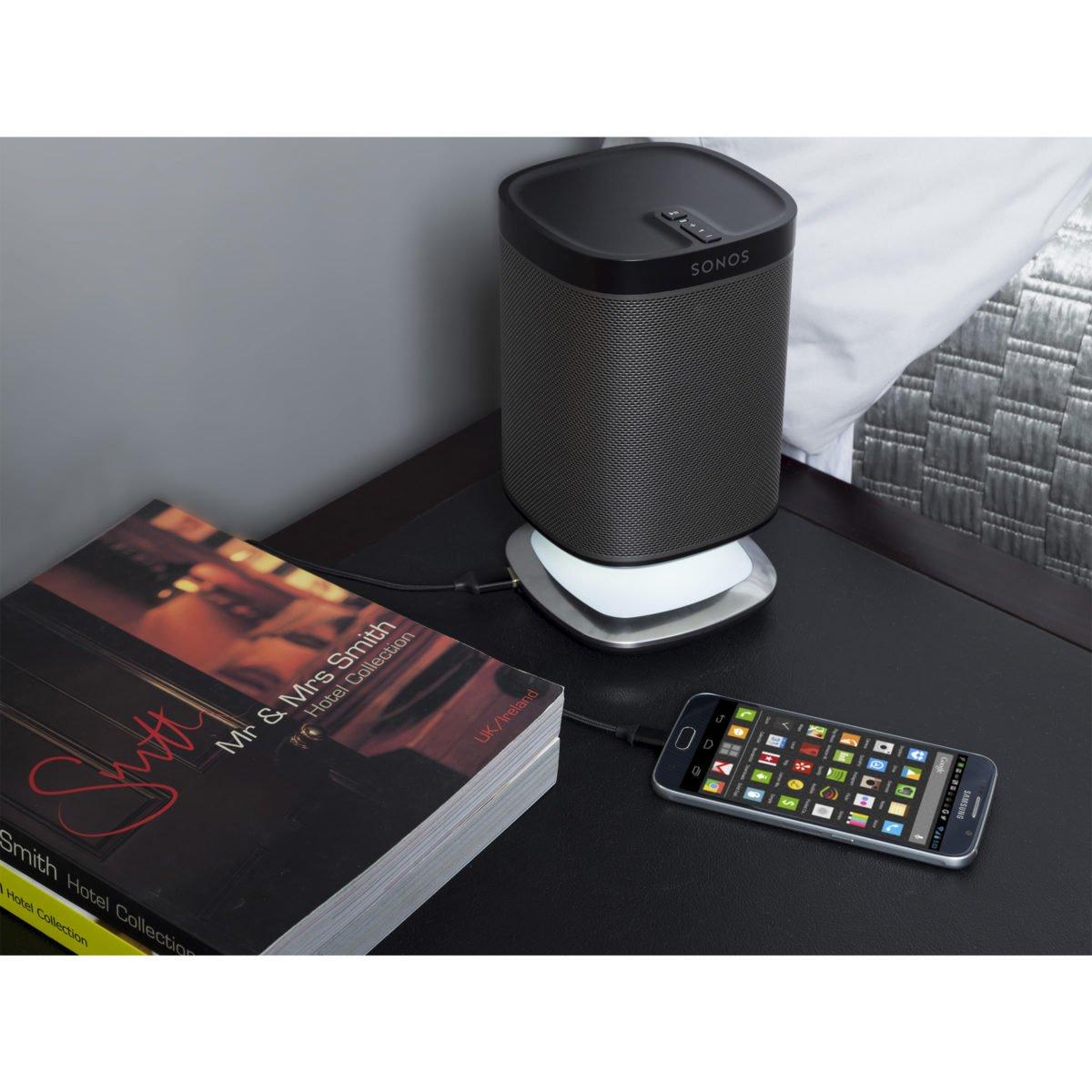 Sonos play 1 tafelstandaard met verlichting zwart 9