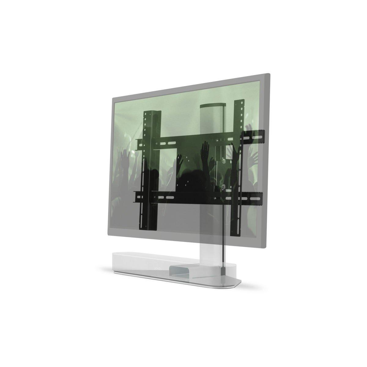 Sonos Beam verstelbare tv standaard wit 3