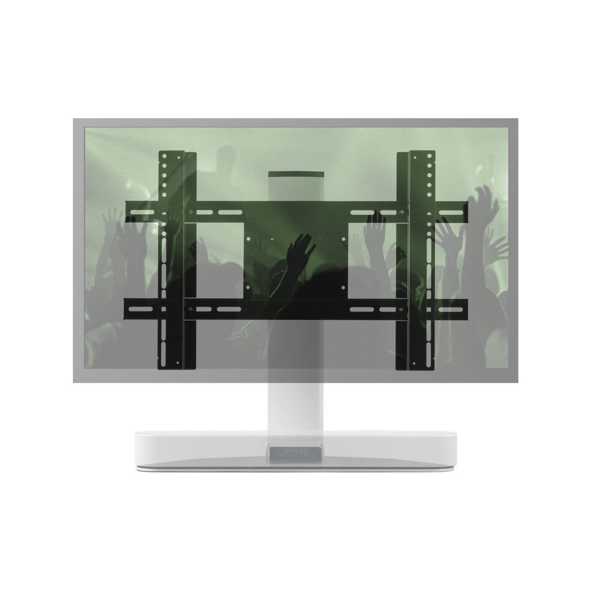 Sonos Beam verstelbare tv standaard wit 8