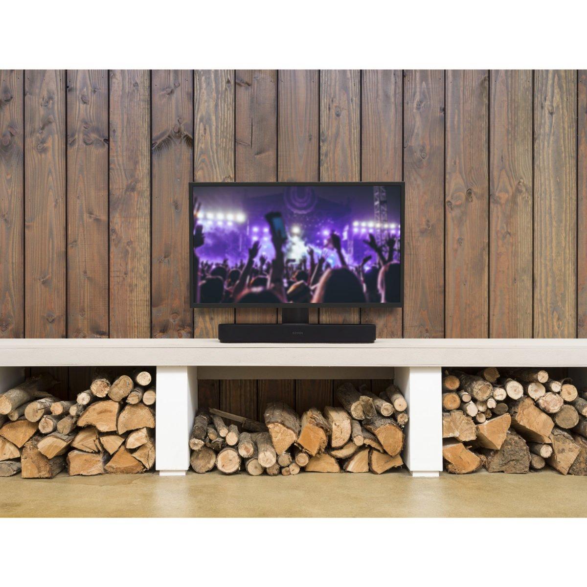 Sonos Beam verstelbare tv standaard zwart 4
