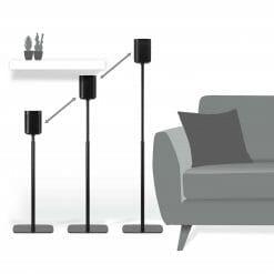 Sonos one verstelbare standaard zwart 11