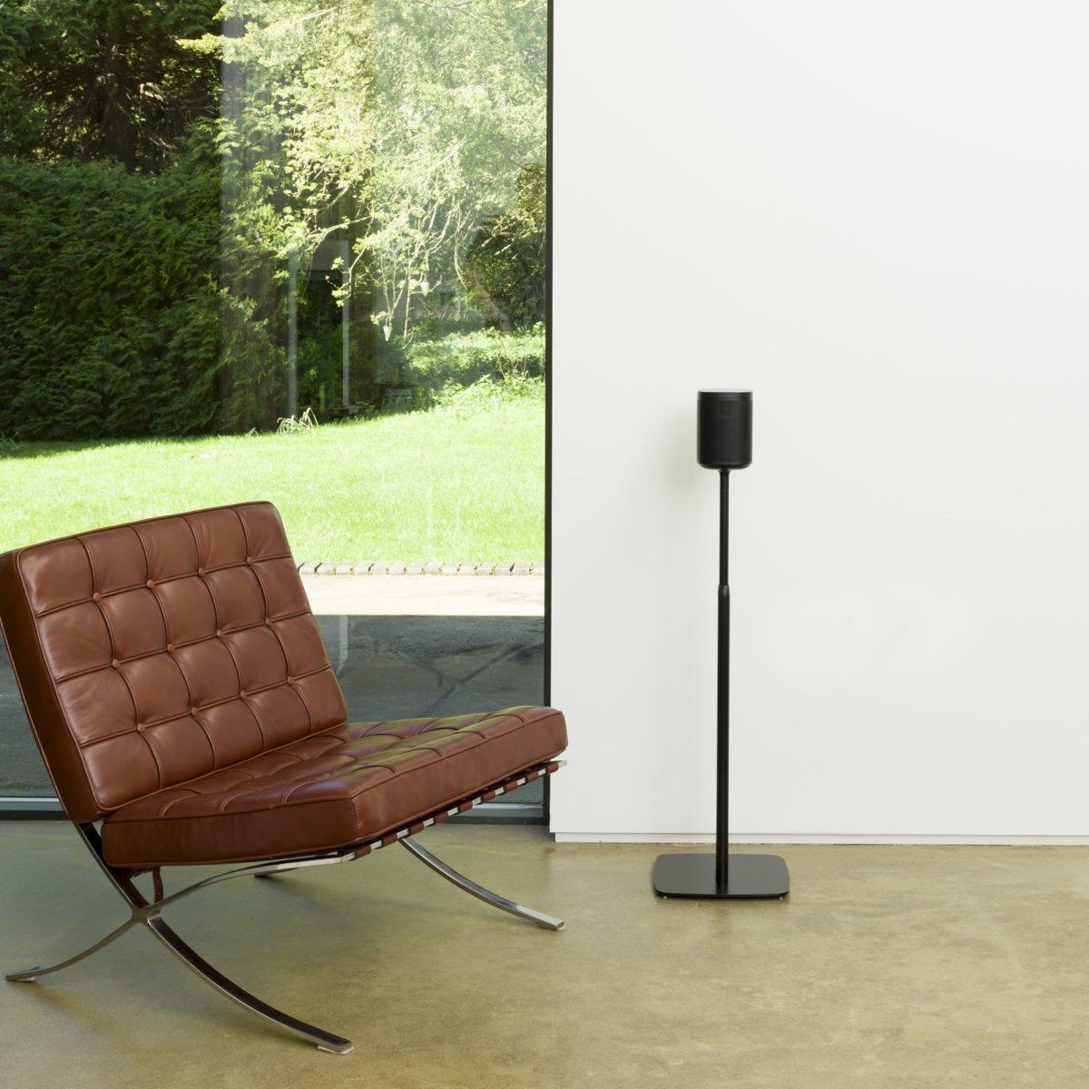 Sonos one verstelbare standaard zwart 12