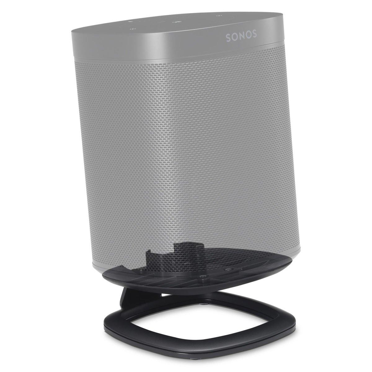 Sonos One tafelstandaard zwart 2