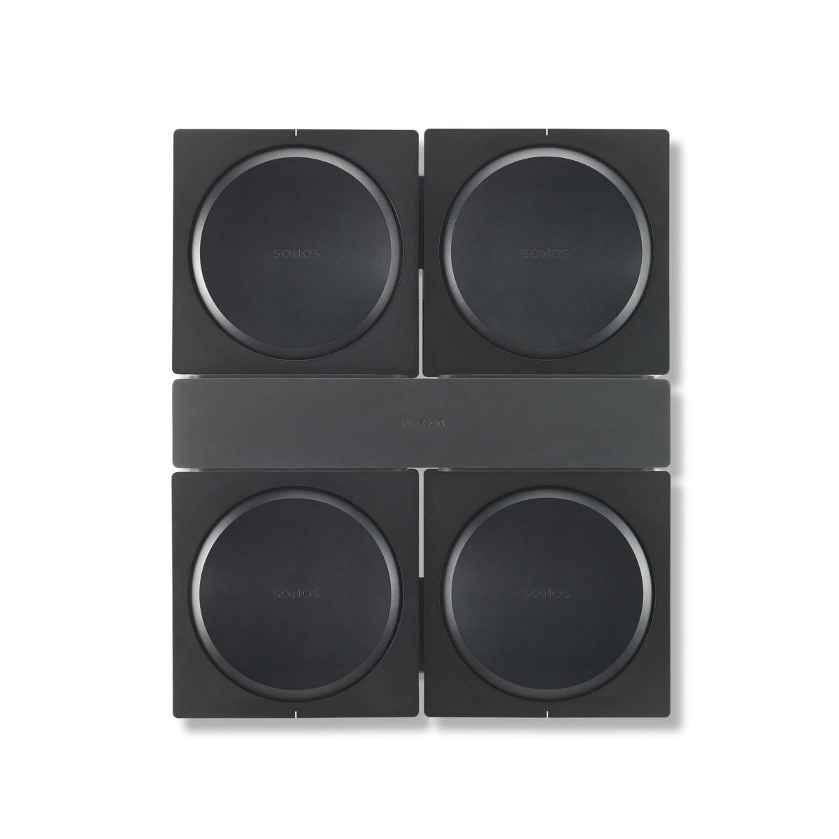 Flexson Sonos AMP 4x beugel 1
