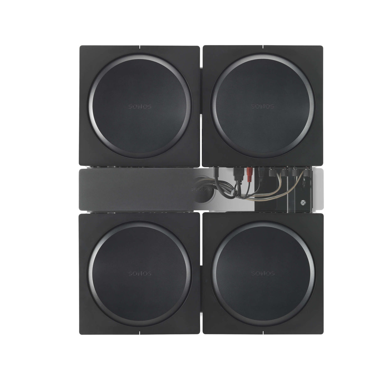 Flexson Sonos AMP 4x beugel 2