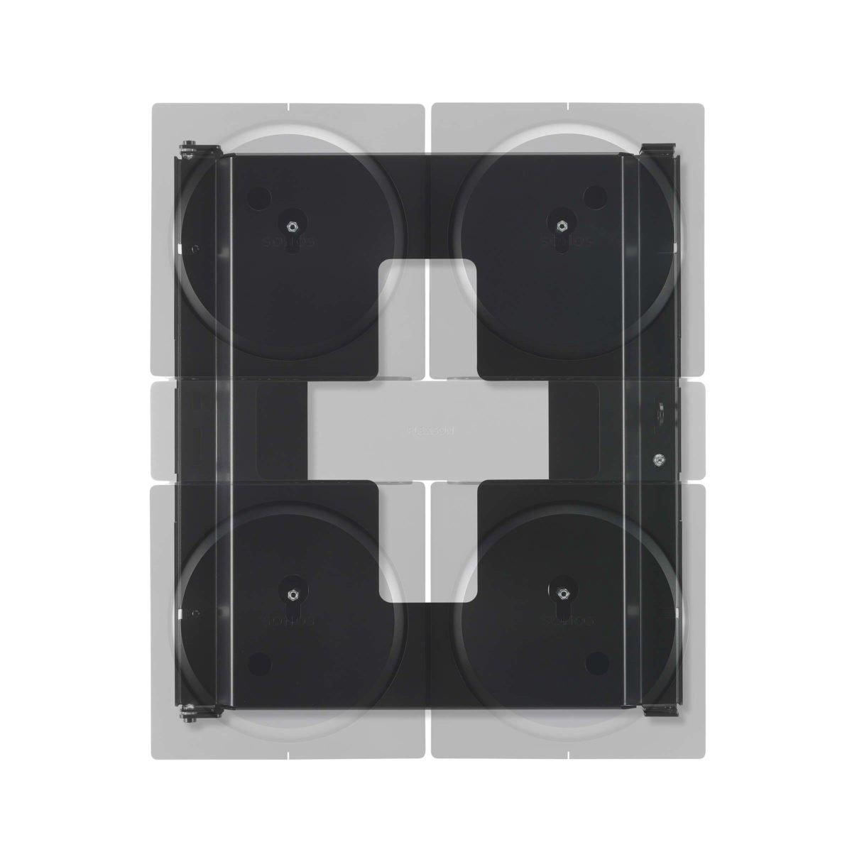 Flexson Sonos AMP 4x beugel 3