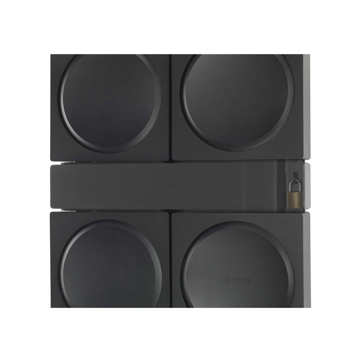 Flexson Sonos AMP 4x beugel 4
